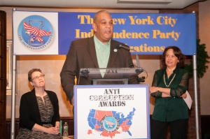 Attorney Michael A. Hardy at the 2013 Anti-Corruption Awards