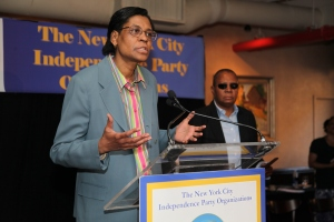 Dr. Jessie Fields at the 2012 IP NYC Spring Chair Reception