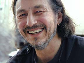 John Trudell. Photograph by Ken Ige